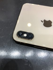 カメラガラス割れ修理