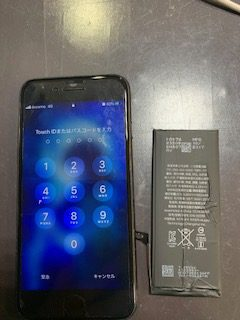 データはそのまま30分修理といえばスマートクール!アイフォンのバッテリー交換