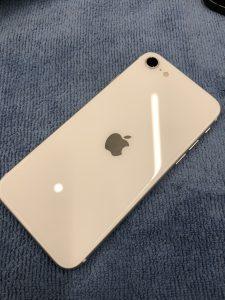 iPhoneSE2裏面ガラスコーティング