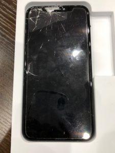iPhoneXRガラス液晶交換