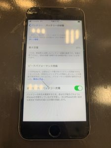 iPhone6s画面バッテリー
