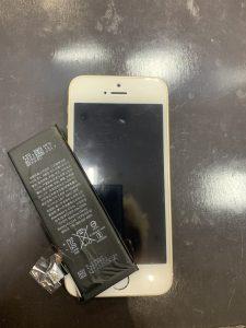 iPhoneSEバッテリー