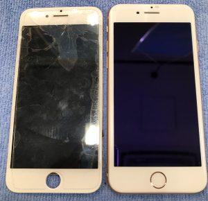 iPhone 画面修理 画面割れ