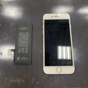 バッテリー交換をしたiPhone7