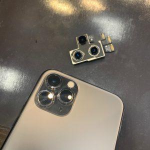 カメラ交換をしたiPhone11pro