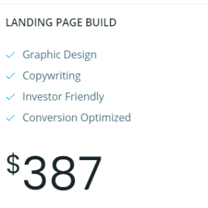 Landing Page Build