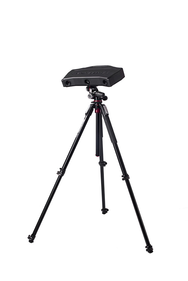 eviXscan 3D Heavy Duty Optima 3D scanner on tripod