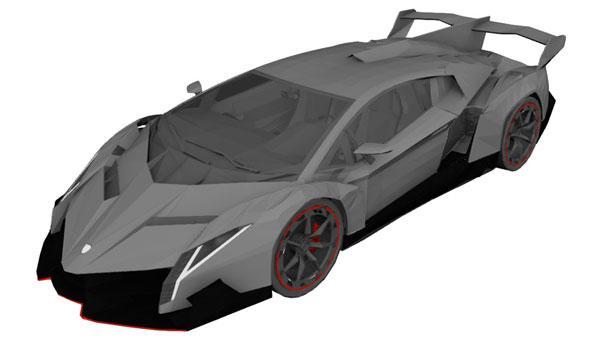 Reverse Engineering - New car design