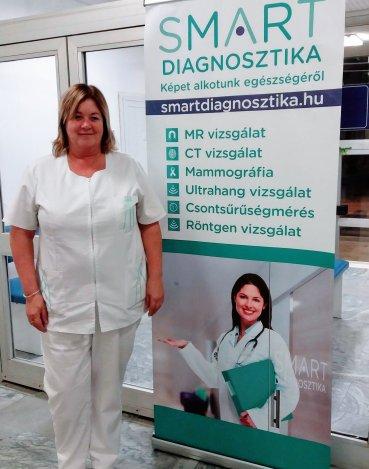 Dr. Urbanek Krisztina a SMART Diagnosztika orvosigazgatója