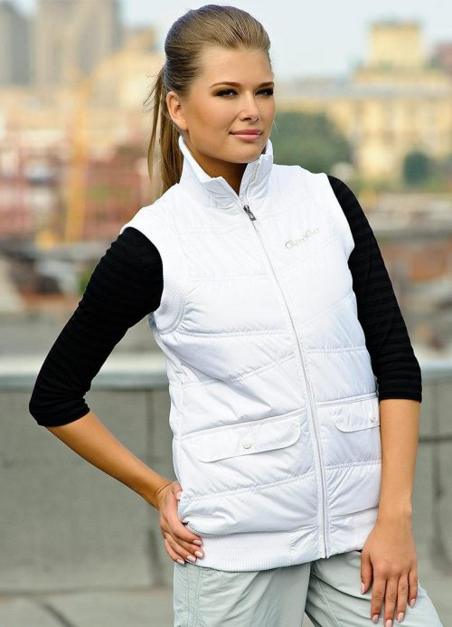 Модные женские жилеты и жилетки сезона 2014-2015 - фото. С ...