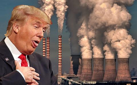 Image result for trump pollution