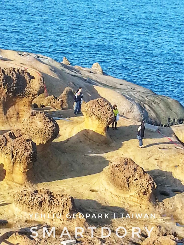 Queen's Head Rock Formation Yehliu GeoPark Northern Taiwan