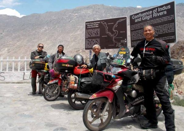 Penang to London 125cc Motorcycle Ride of a Lifetime