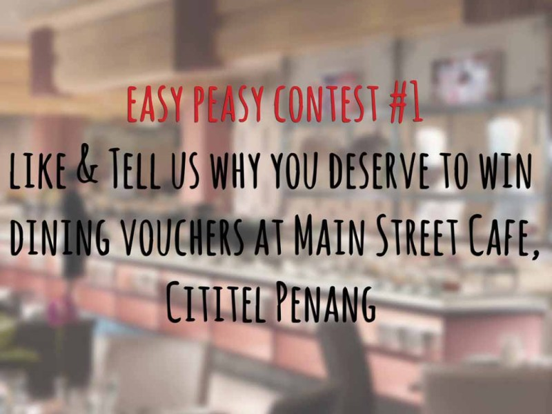 Easy Peasy Contest #1