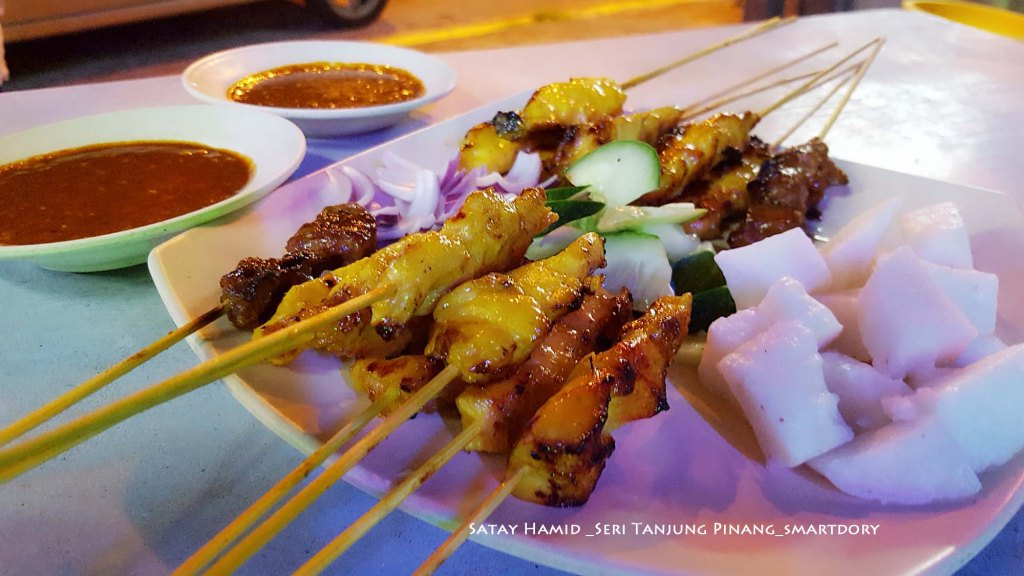 Fan Up The Heat For Satay Hamid Seri Tanjung Pinang Penang
