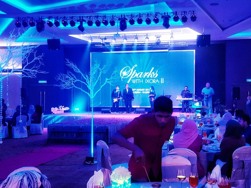 Sparks with Ixora II Corporate Appreciation Night Ixora Hotel, Penang