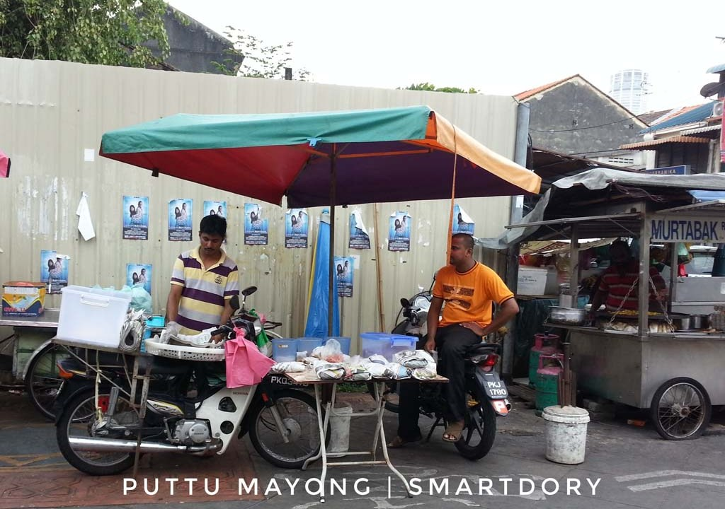 Little India's Delicious Strings of Puttu Mayong Penang