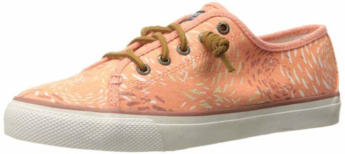 Sperry Women Seacoast Fashion Sneaker fish circle is best for walking in Asia