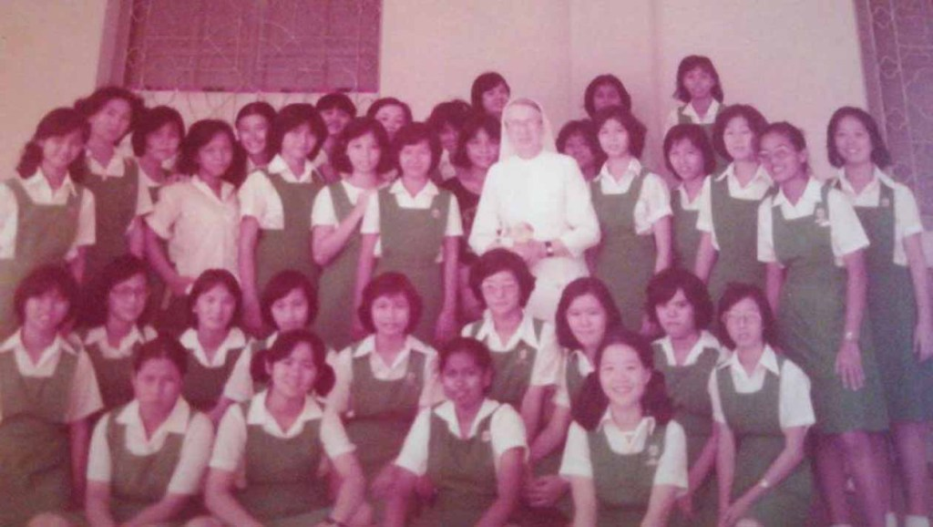 CLS Girls Celebrate Friendship Forged Over the Years_with beloved Sr Francis de Salles dated 1979