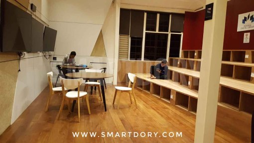 24 hour Penang Digital Library Looks Awesome Past Midnight_Study room
