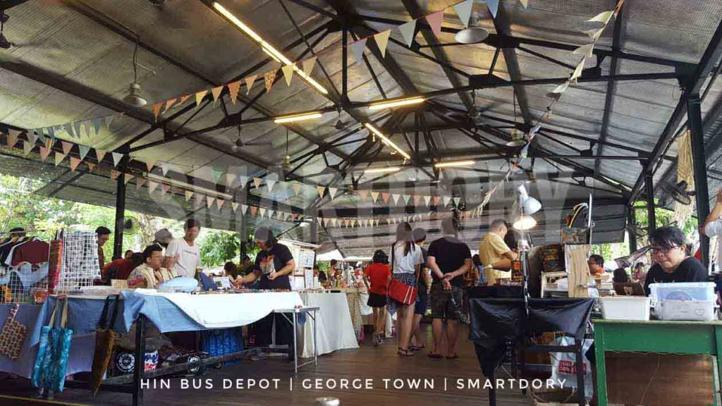 Hin Bus Depot Hipster Art Centre George Town Penang