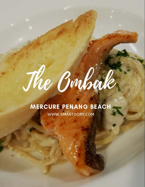 The Ombak Mercure Penang Beach Set Lunch