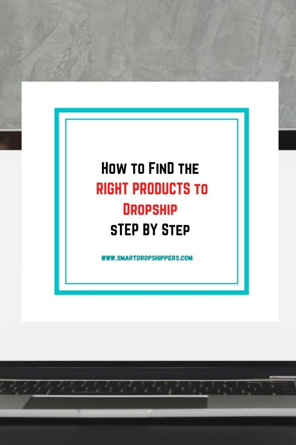 How To Find The Right Products to Dropship