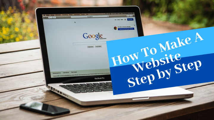 how to make a website step by step guide