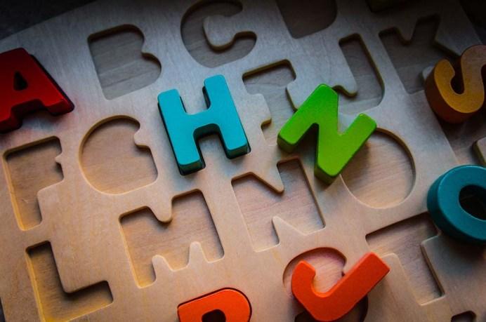 Hape Buchstabenpuzzle