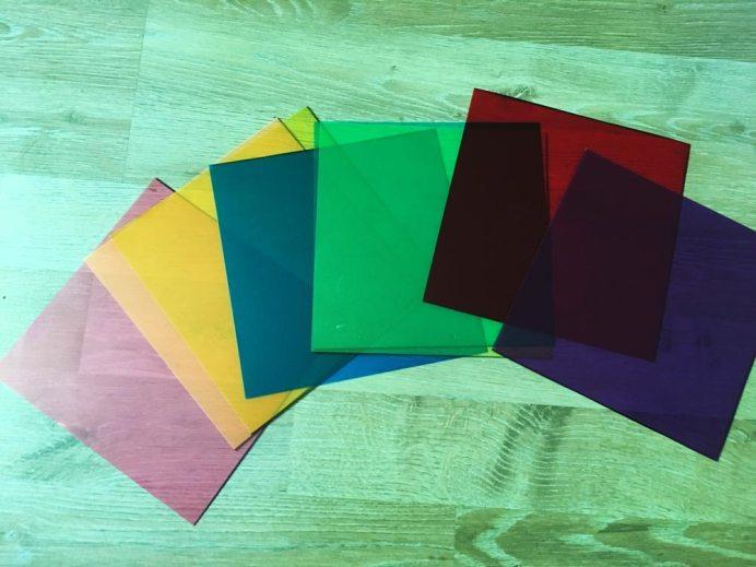 DIY Puzzles: Quadrate Schritt 3 zugeschnittene Fotofilter