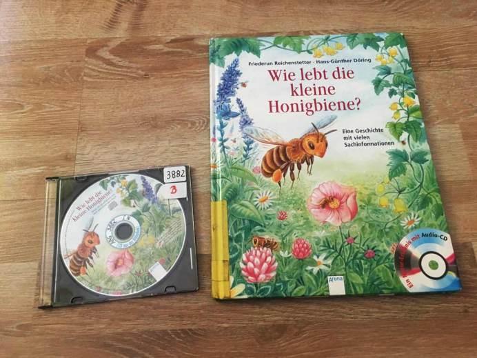 die besten Bücher für Kinder ab 4 Jahre Wie lebt die kleine Honigbiene