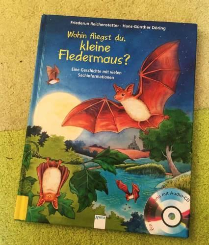 die besten Bücher für Kinder ab 4 Jahre Wohin fliegst du, kleine Fledermaus
