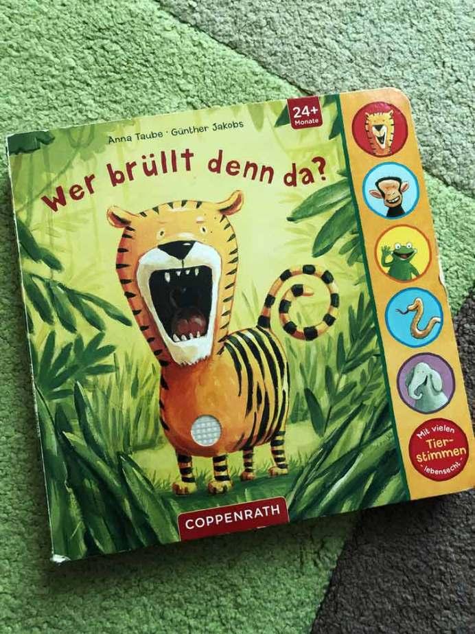 Die besten Bücher für Kinder ab 2 Jahre Wer brüllt denn da?