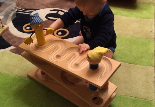 bestes Lernspielzeug für Kinder ab 1 Jahr Kugelbahn