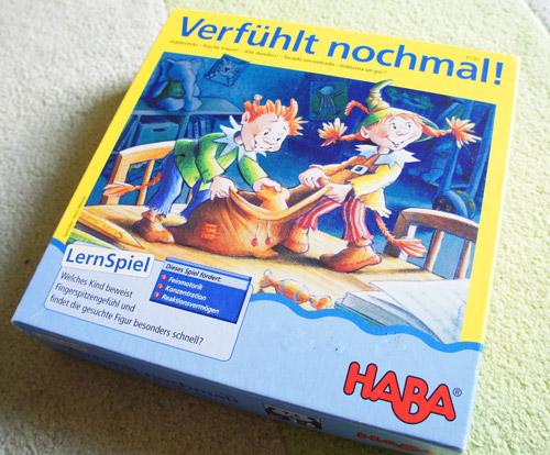 Spiele ab 3 Jahre Empfehlung Verfühlt nochmal von Haba