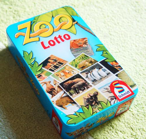 Spiele ab 3 Jahre Empfehlung Zoo Lotto von Schmidt Spiele