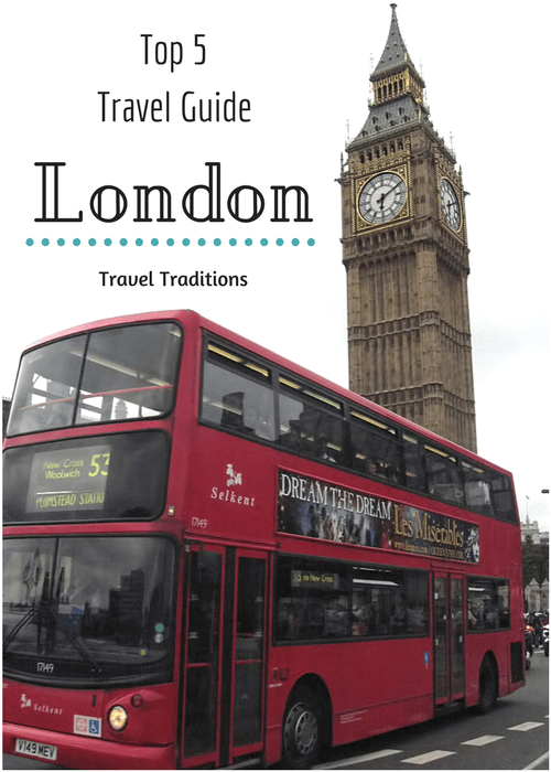 Top 5 Travel Guide - London Travel Traditions. Our favorite things to do in London. #UK #London #Fishandchips #BigBen #familytravel #familyvacation #familyfun #smarteasyfun.com