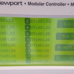 Newport 9016 Modular Controller with 16 x 8510D Dual LDD module