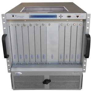 Spirent TestCenter SPT-11U HyperMetrics chassis with PERMANENT Licenses