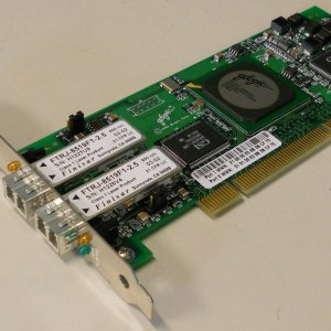 NetApp X1922A FC VI Cluster Card Dual LC Optical for MetroCluster