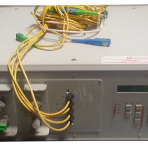 JDSU SC Series P/N : SA12-Z000114 1 x 6 Fiber Optic Switch