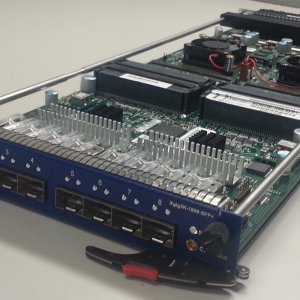 JDSU XGIG5K 1008 10Gb/s Ethernet Blade 8-ports and SFP+ interface w/ licenses