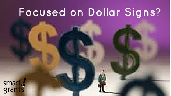 Are You Focused on Dollar Signs for Your Fundraising?