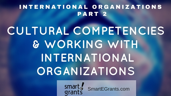 Cultural Competencies and Working With International Organizaitons