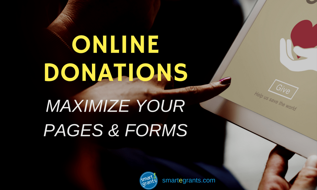 Maximize online donation pages and forms by Steven Shattuck