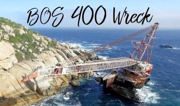 A bordo do maior naufrágio da Cidade do Cabo