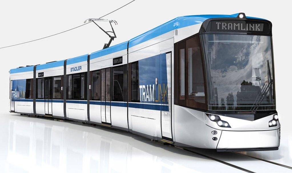 Visualisierung Tramlink Stadler