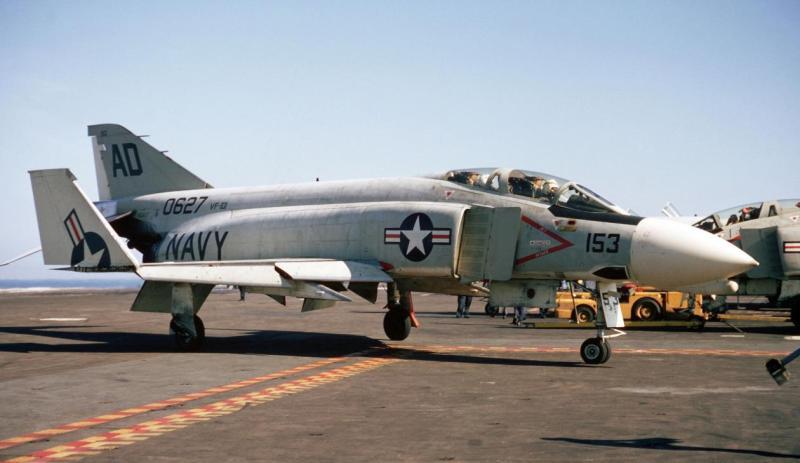 Como um fantasma, o icónico F-4 Phantom está desaparecendo lentamente