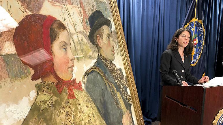 Pintura de família judia de Berlim roubada pelos nazis voltou após 87 anos