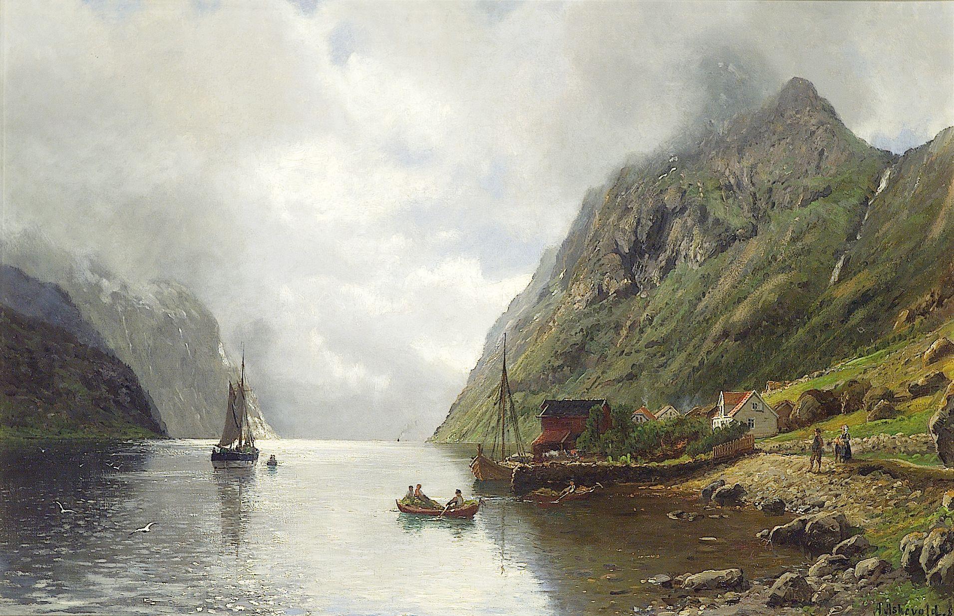 Anders Askvold Norsk fjordlandskap